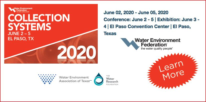 WEF Water Environment Federation, Collection Systems, El Paso, Texas